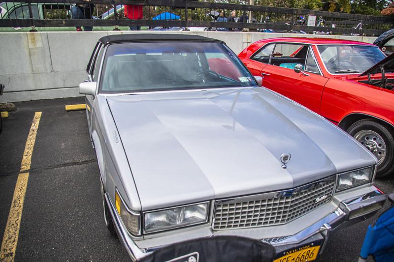 1989 silver Cadillac